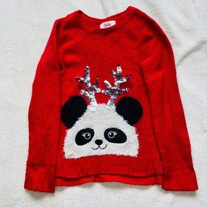 Justice christmas sweater